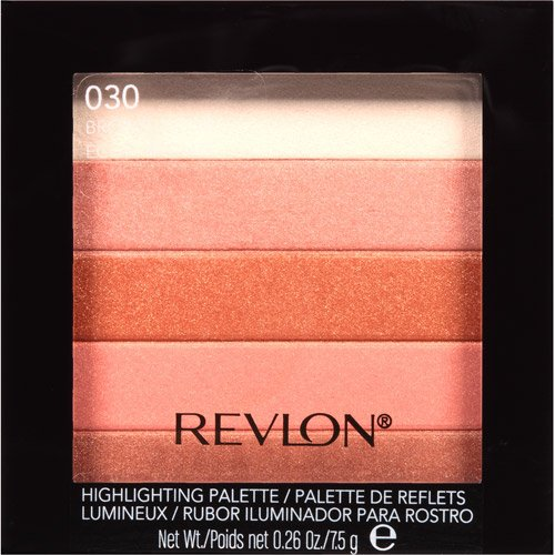 Revlon Highlighting Palette, Bronze Glow, 7.5g