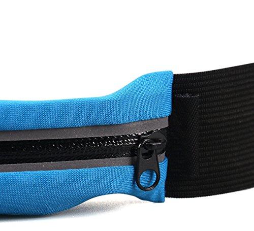 FZHLY Männer Und Frauen Outdoor Sports Taschen Mini Multifunktionale Taschen Black(doublePockets)