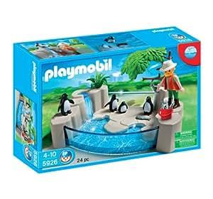 Playmobil 5926 la piscine des pingouins jeux for Piscine playmobil jouet club