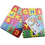 Tappetino in schiuma EVA per bambini Tappetino da gioco per bambini Tappeti Tappeto ad incastro Piano per esercizi Pavimento per bambini Puzzle Tappeto Piastrelle (colore: multicolore)