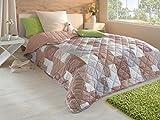Tagesdecke Bettüberwurf 220x240cm Sofa Couch Überwurf Decke Gesteppt Steppdecke