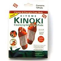 20x Detox almohadillas: 2x Paquete de 10–Kinoki entgiftende Plaster/Detox tiritas ür los pies–El original de la TV Publicidad–Ingredientes Naturales entgiften el cuerpo, de fácil aplicación