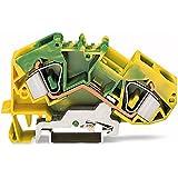 783–607/999–950–Set de 2L de PE de abrazadera 16qmm verde/amarillo