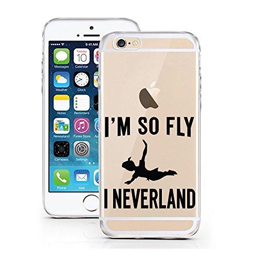 iPhone 6S Hülle von licaso® für das Apple iPhone 6 & 6S aus TPU Silikon Super Hero is my middle Name Super-Held Muster ultra-dünn schützt Dein iPhone & ist stylisch Schutzhülle Bumper Geschenk (iPhone NEVERLAND