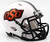 Oklahoma State Cowboys 2016 White Revolution Speed Mini Football Helmet by Riddell