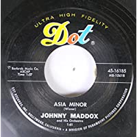 JOHNNY MADDOX 45 RPM ASIA MINOR / SHELL HAPPY