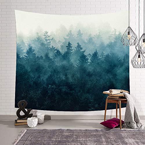 Maniküre Mandel (mmzki Export gehängt lässig Schlafzimmerdekoration Nordic Deep Forest Serie 4 203x150)