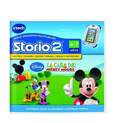 Vtech Storio - Mickey Mouse Ch Para Storio 2 80-230422