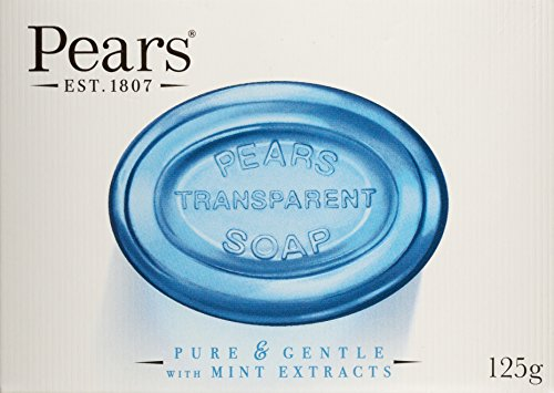 PEARS GERM SHIELD WITH MINT EXTRACT SOAP (Set Of 3 Soaps) 125 G*3