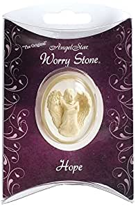 AngelStar Hope Worry Stone In Pillow Pack, Metal, Multi-Colour