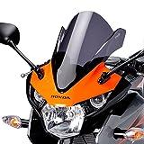 Motorrad Windschild Windschutz Racingscheibe Puig Honda CBR 125 R 11-16 dunkel getönt