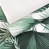 Effet 3D Moderne Feuille De Palmier Tropical Papier Peint Rouleau Plante Nature Jungle Chambre Salon Fond
