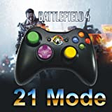 Xbox 360 Rapid Fire Modded Controller 21 Mode Drop Shot and Sniper Quick Scope