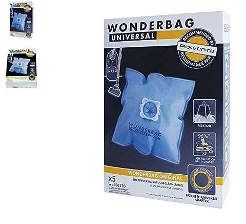 ROWENTA - WONDERBAG SAC À POUSSIÈRE MICRO FIBRE WONDERBAG x5 pour aspirateur ROWENTA
