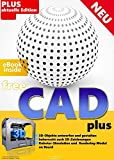 FreeCAD plus Die professionelle 2D + 3D Software auf CD DVD Konstruktion Architektur, Maschinenbau, Elektrotechnik CAD Programm, Software für Windows -