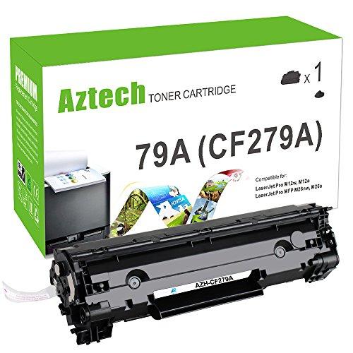 Preisvergleich Produktbild Aztech 1 Pack ersetzt CF279A 79A Tonerkartuschen 1000 Seiten für HP LaserJet Pro MFP M26nw, HP LaserJet Pro MFP M26a, HP LaserJet Pro M12w ,HP LaserJet Pro M12a