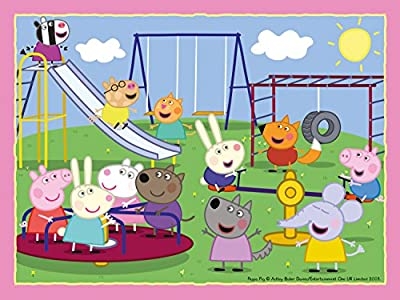 Ravensburger Peppa Pig 4 in a Box (12, 16, 20, 24pc) Jigsaw Puzzles : everything £5 (or less!)