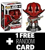 FunkoPOP Star Wars Force Awakens: Sidon Ithano + 1 Star Wars Trading Card NEW