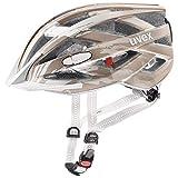 Uvex City I-VO Fahrrad Helm Champagne grau 2019: Größe: 56-60cm