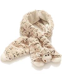 Hansen peluche mouton écharpe enfants/garçons et filles/90x 14cm/doux/rösche coton/marron/Agneau Petit Agneau
