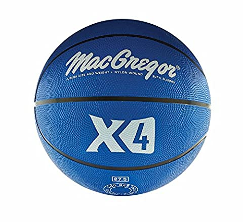 MacGregor Multicolor Basketballs (Intermediate Size,