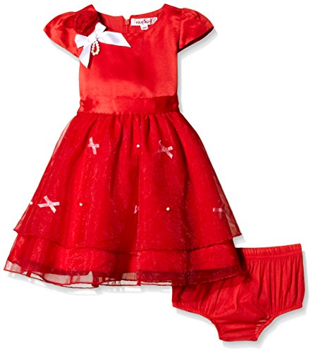 Nauti Nati Girl's Party and Evening Dress (NAW14-659_Red_6y)