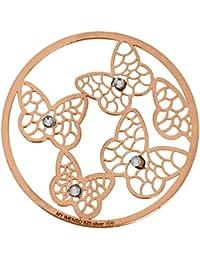 MY iMenso mariposas portada insignia plata adrina 33 mm 33-1134