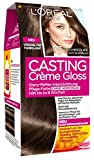 L'Oréal Paris Casting Crème Gloss Glanz-Reflex-Intensivtönung 513 in Iced Chocolate, 3er Pack (3 x 1 Stück)