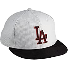 A NEW ERA Era Los Angeles Dodgers Gorra Diamond Suede Gris Gray Schwarz Hot 0d5def077ff