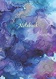 Libreta De Puntos: A5 Cuaderno Dot Grid Para Bullet Journaling, Lettering, Art Notes | Journal De Punteados | 110 Páginas Con Cuadrícula De Punto | Soft Cover Acuarela