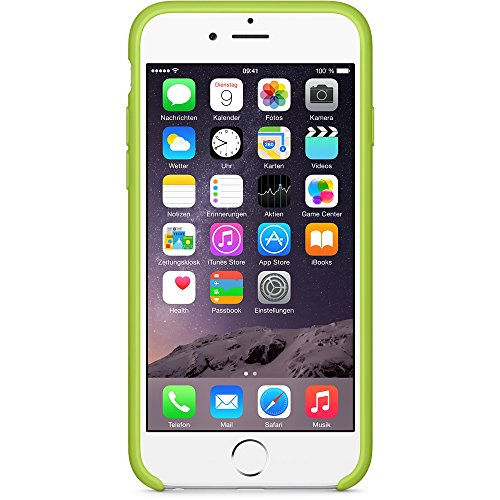 "iProtect® Apple iPhone 6 Plus (5,5"") 6s Plus Hülle Silikon Soft Case grün Silikon Soft Case Grün"