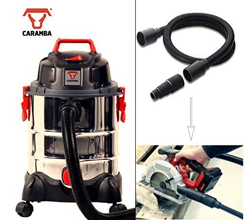 Caramba húmedo–Aspiradora en seco vtool 7.0–Multifuncional universal aspiradora con extracción manguera para herramientas eléctricas