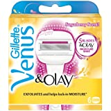 Venus and Olay Sugarberry Razor Blades - (Pack of 6)