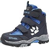 Scarpe da Escursionismo Unisex-Bambini Trekking Stivali da Neve Scarpe da Cotone