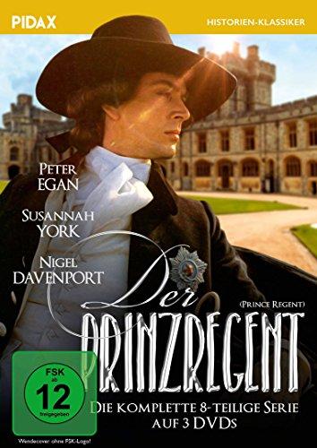 Der Prinzregent (Prince Regent) | Die komplette 8-teilige Serie über das Leben des George IV. (Pidax Historien-Klassiker) [3 DVDs]