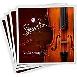 Juego completo de alta calidad cuerdas para violín (tamaño 1/2y 1/4violín Cuerdas, G D A & E