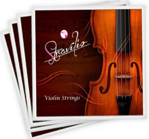 B004IJE6PO Komplettes Set bestehend aus hochwertigen Violinsaiten, Größen 1/2 und 1/4, Violinsaiten G, D, A und E Dimensione Piena Test