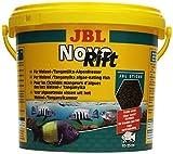JBL NovoRift 30296 Alleinfutter für aufwuchsfressende Buntbarsche, Sticks 5,5 l