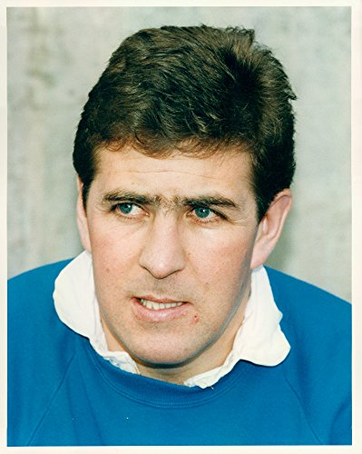 Vintage photo of Portrait of football player Mark McGhee - Head of Leicester City FC