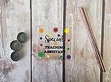 Besondere Teaching asistant–Persönliche Acryl Untersetzer klar oder weiß erhältlich–dd666 farblos