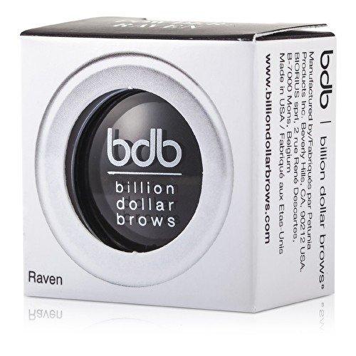 Fard à sourcils Noir - Brow Powder Raven - Billion Dollar Brows