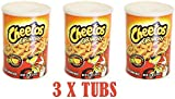 Cheetos Crunchy Dangerously Cheesy 120g Tub Pack Of 3