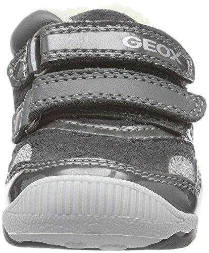 Greyc9002 New D B dk Grau Lauflernschuhe Girl Balu' Mädchen Baby Geox wSYqtvx