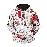 Lxj Sweater Maglione con Cappuccio 3D Pullover_2018 Maglione con...