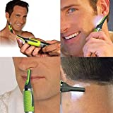 2017 Hot Personal Ear Eyebrow Nose Hair Clipper Trimmer Shaver LED Light High Qulaity For Men & Women