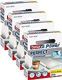 4er Pack tesa Gewebeband, extra Power Perfect, weiß, 2,75 m x 19 mm