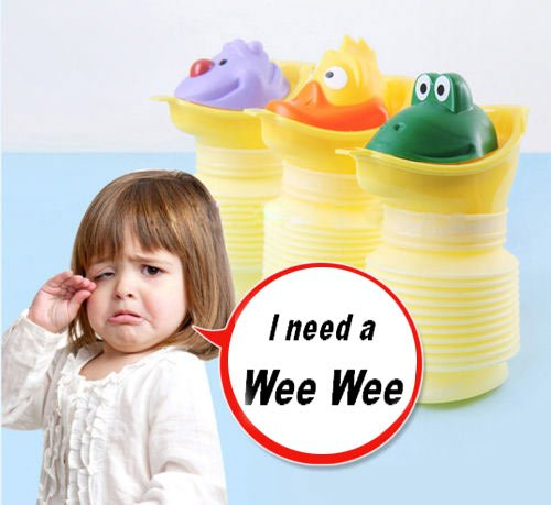 Preisvergleich Produktbild Maxtto Childcare Tragbares Kinder-Töpfchen, 400ml, Unisex