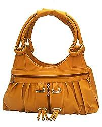 Vintage Women's Handbag (Mustard,Bag 119)
