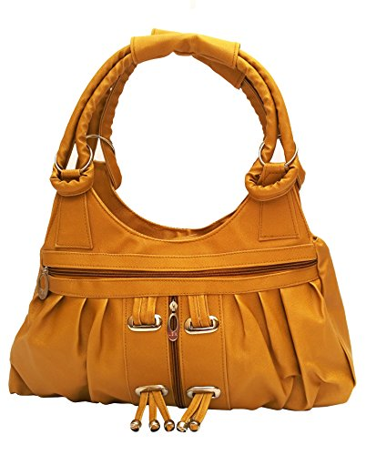 Vintage Women's Handbag (Mustard,Bag 119)  available at amazon for Rs.320