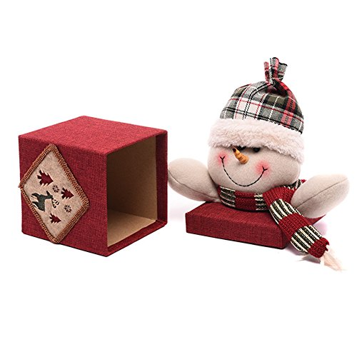 Kostüm Candy Apple - Candy Box Geschenk-Weihnachten-Box Kreatives Geschenk Mignon Alte Mann Schneemann Puppe für die Weihnachtsabend Apple präsentiert Candy Party Halloween Dekoration Snowman